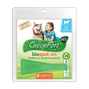 Green Fort NEO BioSpot-On, for dogs over 25 kg