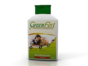 Green Fort BioShampoo against fleas for dogs, 400 ml